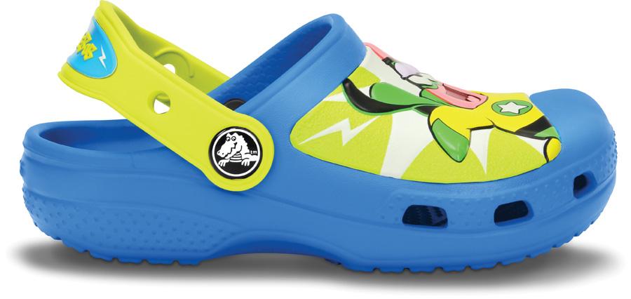 Creative Crocs Super SpongeBob Clog Ocean/Tennis Ball Green C4/5
