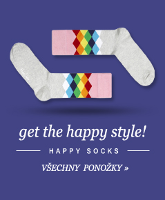 Happy Socks - Trendy ponoky