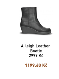 A-LEIGH LEATHER BOOTIE WOMEN'S