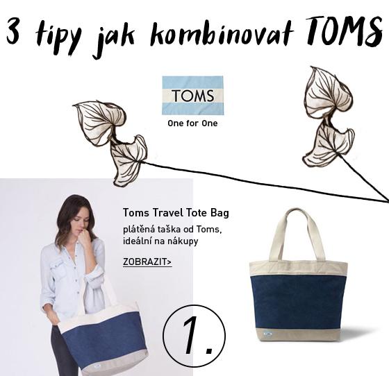 Toms Travel Tote taška