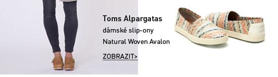 Toms Alpargatas dámské slip-on boty