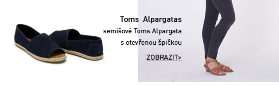 Toms Alpargatas semišové boty