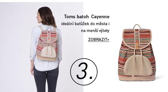 Toms batoh Cayenne