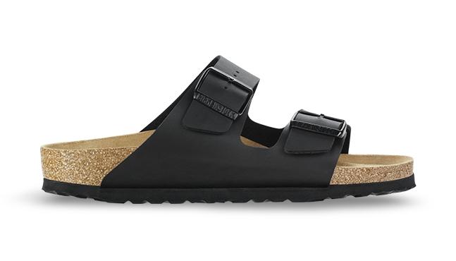 Černé pantofle Birkenstock Arizona Birko-Flor - 42