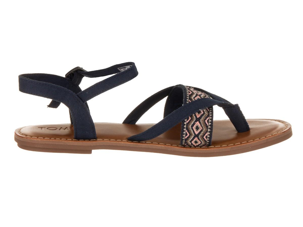 Dámské modré sandálky TOMS Lexie 5,5/36