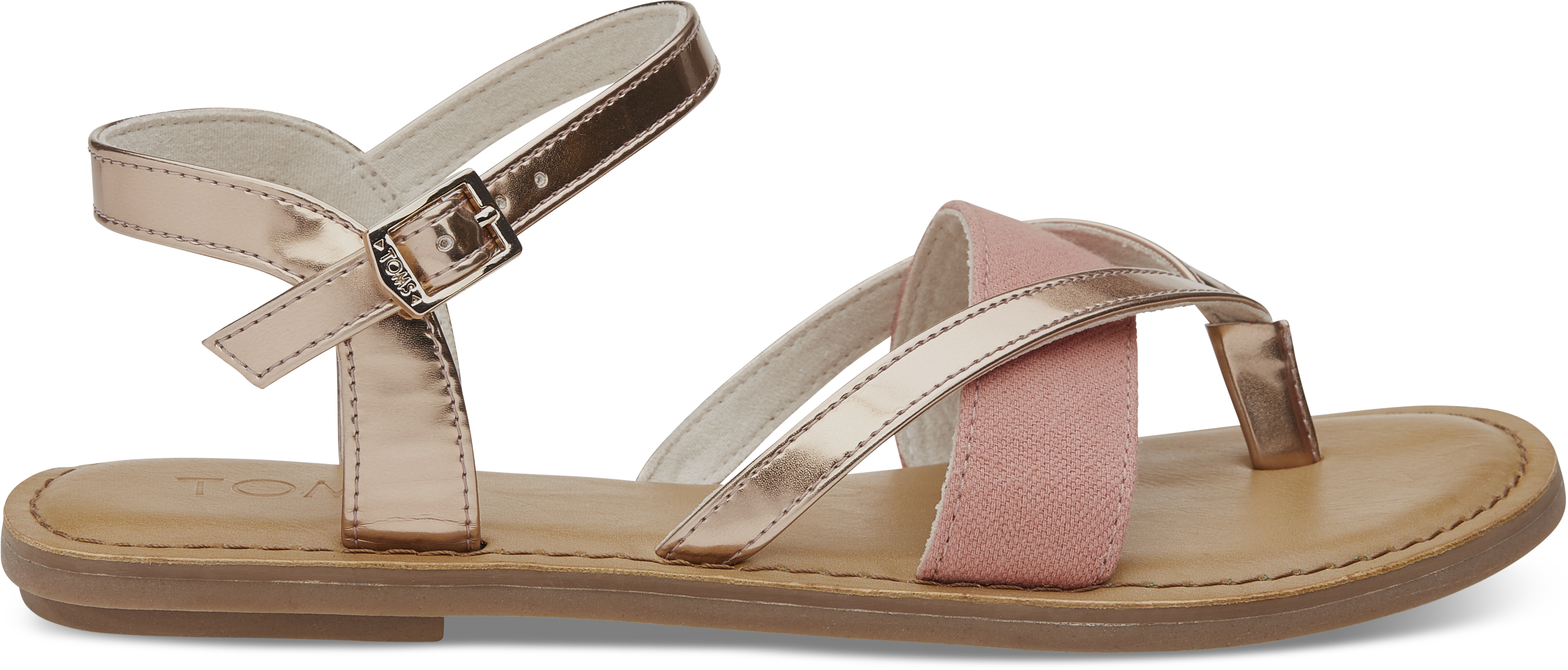 Dámské stříbrné sandálky TOMS Specchio Oxford Lexie 7,5/38