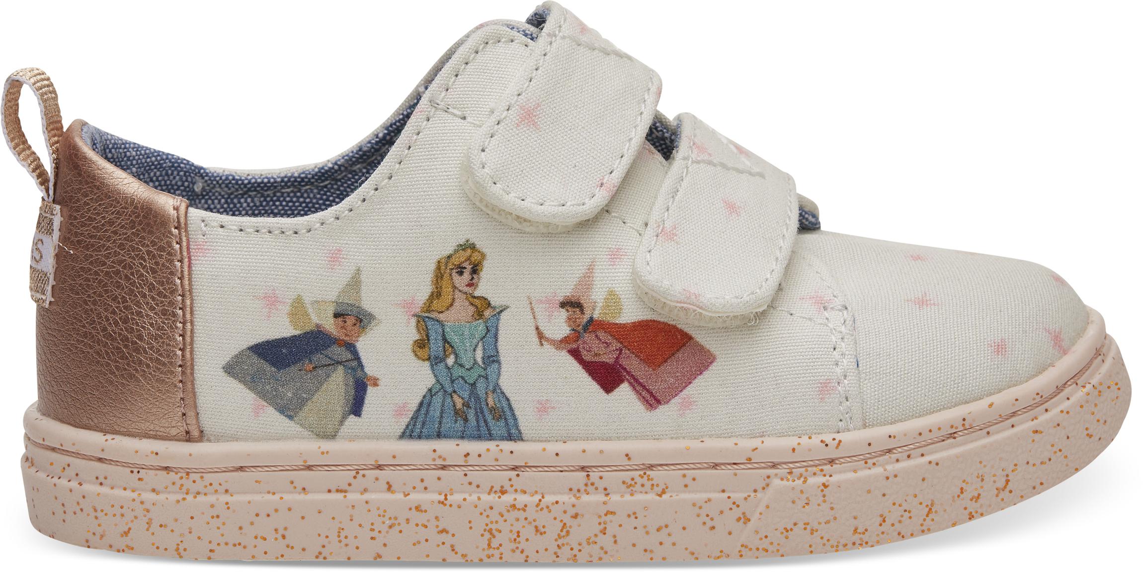 Dětské růžové tenisky TOMS Fairy Godmother Tiny Lenny 28,5