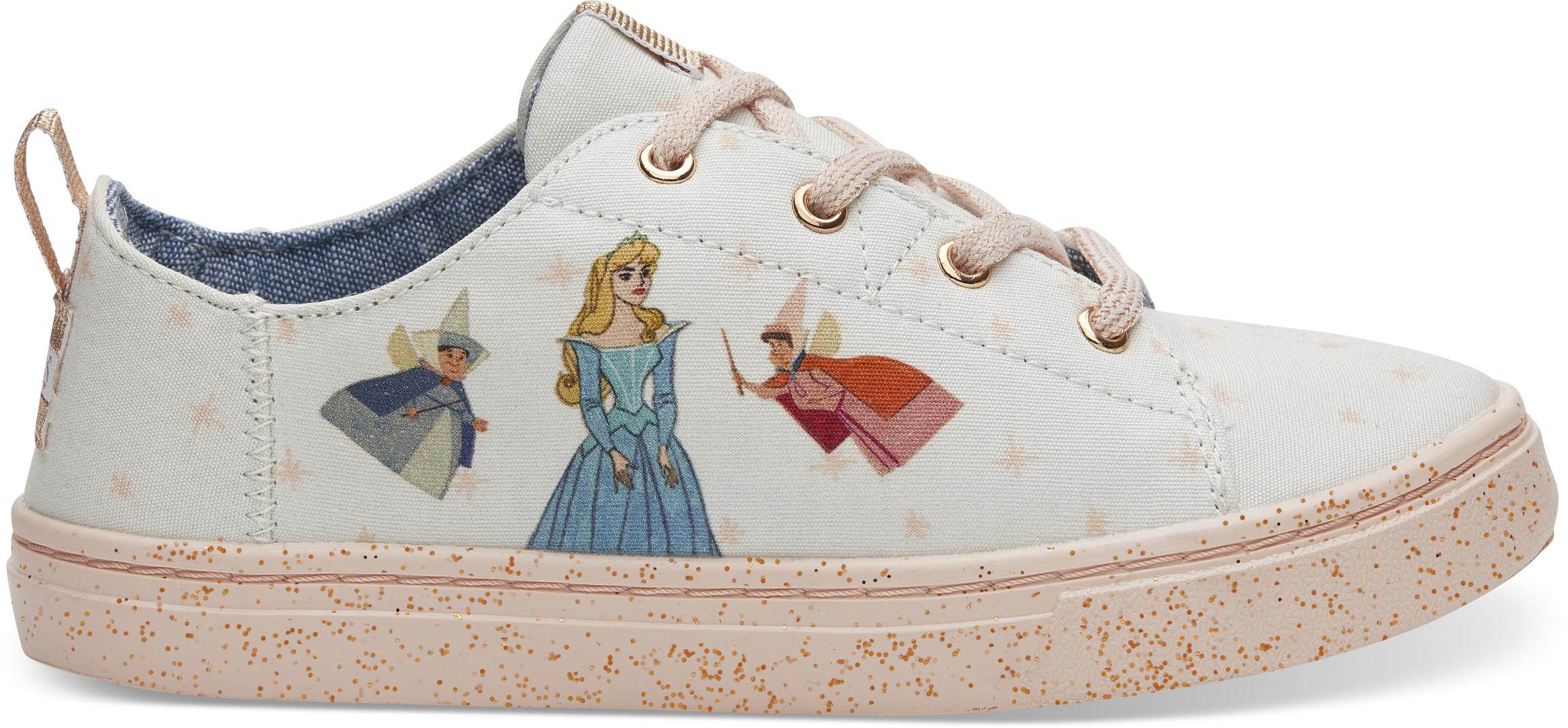 Detské ružové tenisky TOMS Fairy Godmother Youth Lenny 2/34