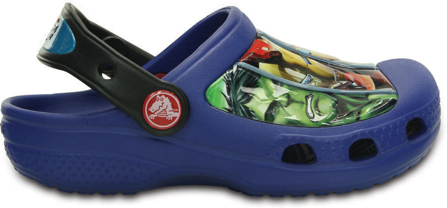 Crocs CC Marvel Avengers III Clog-Cerulean Blue C6/C7