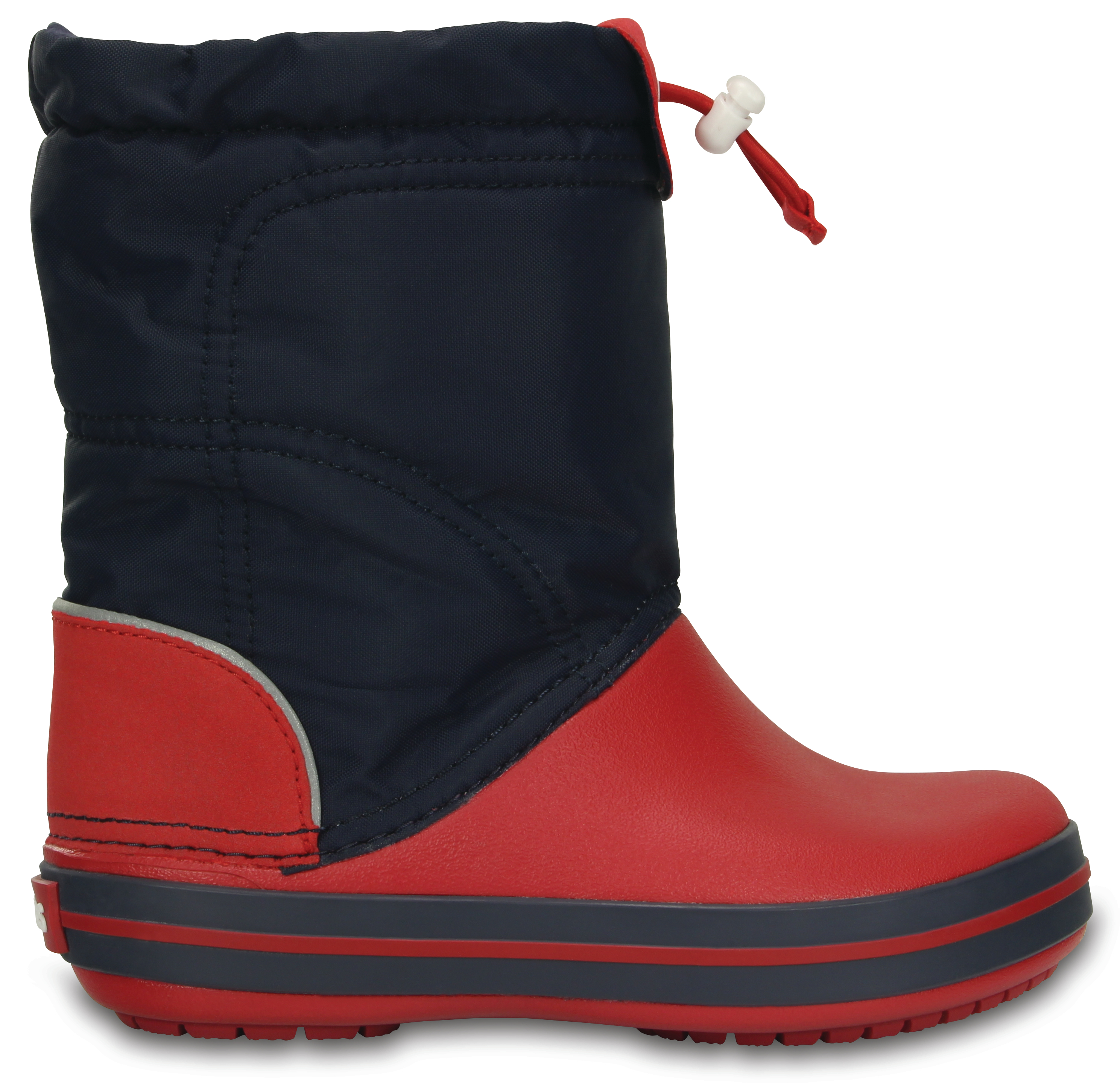 Crocs Crocband LodgePoint Boot K - Navy/Red C10