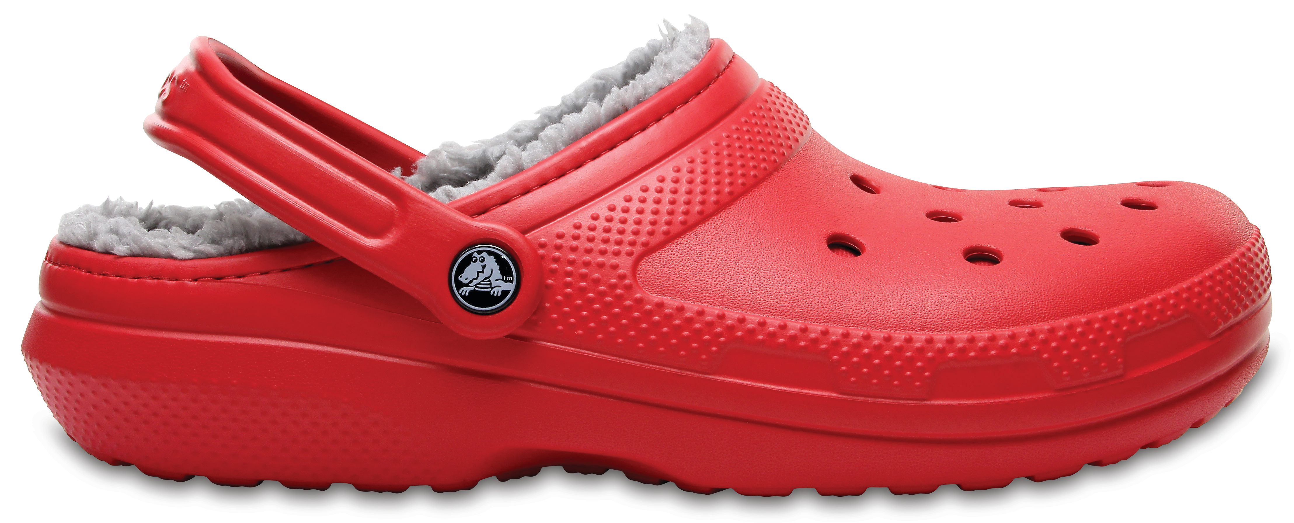 Crocs Classic Lined Clog Ppr/Sil M4/W6