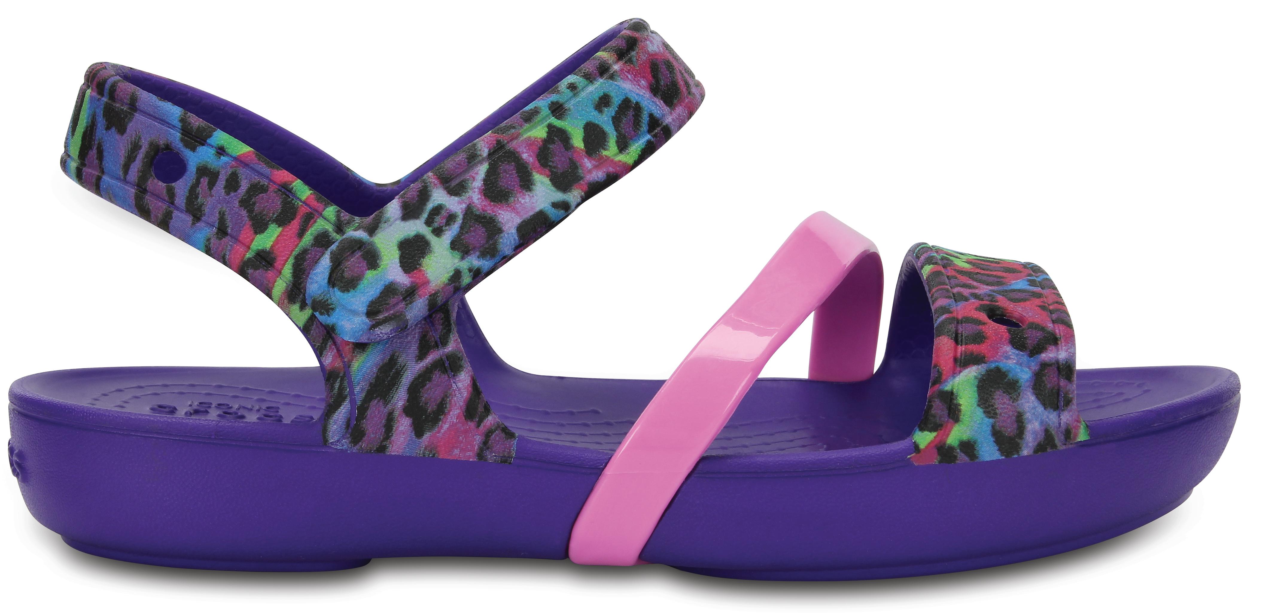 Crocs Crocs Little Lina Sandal -Ultraviolet C6