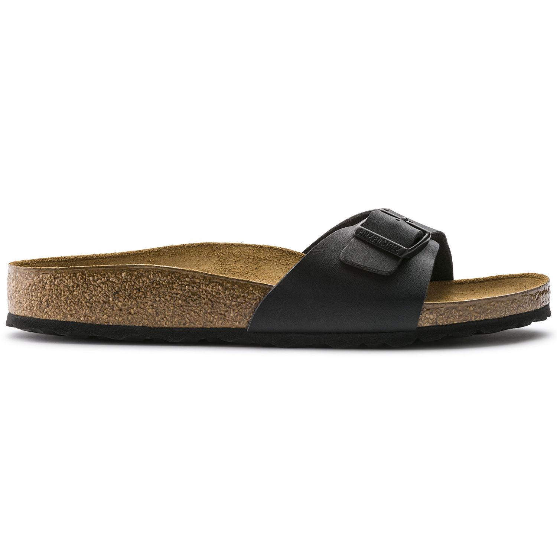 Čierne pantofle Birkenstock Madrid Birko-Flor - 41