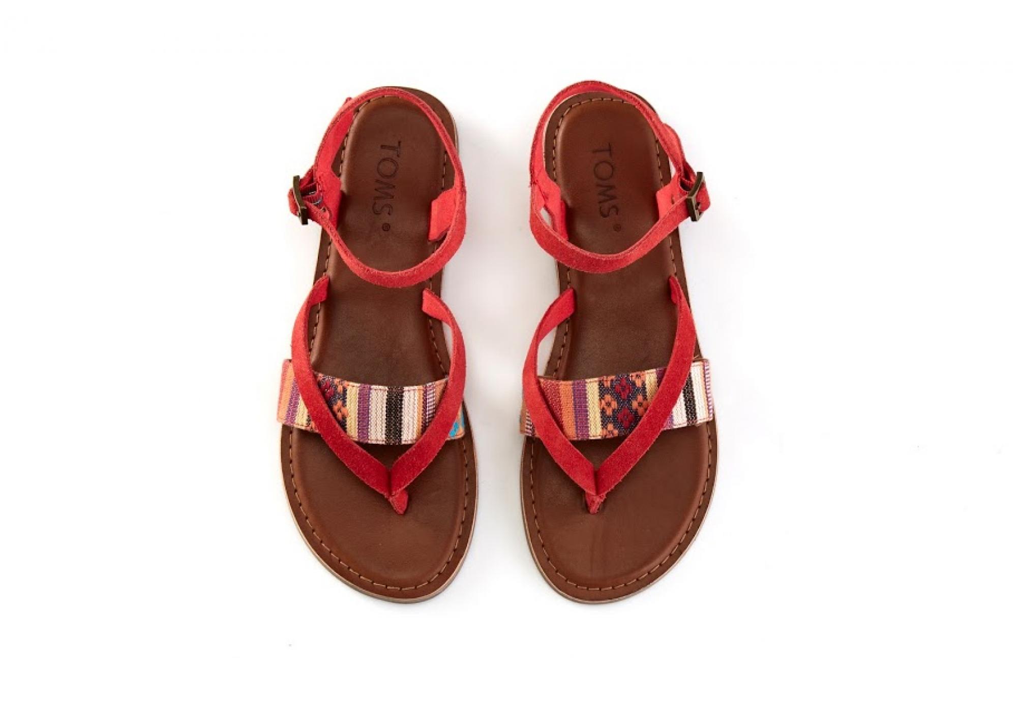 1270b36073 Barevné dámské sandálky TOMS Lexie Sandal