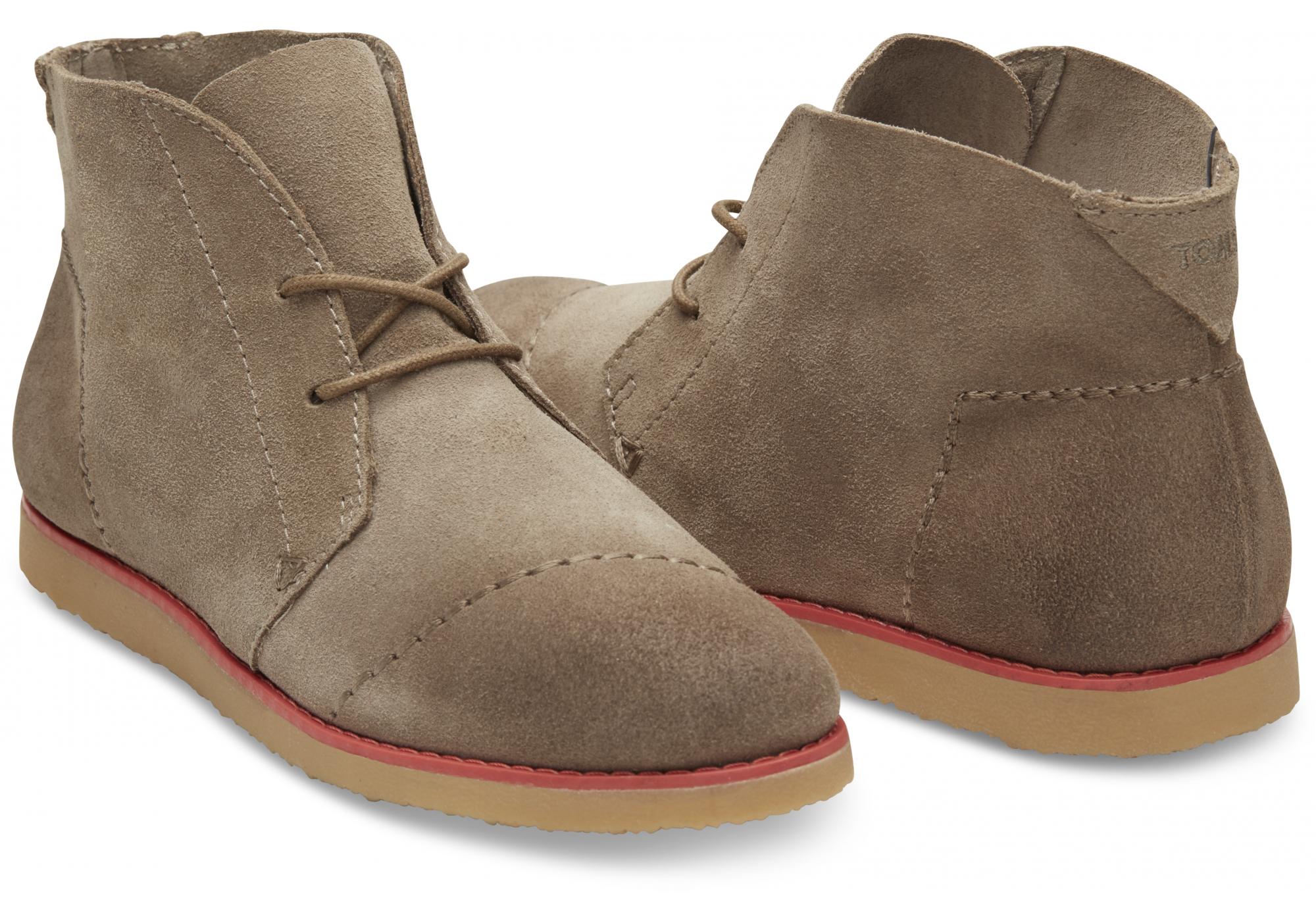 48f1c6450be Hnědé dámské kotníkové boty TOMS Mateo Chukka