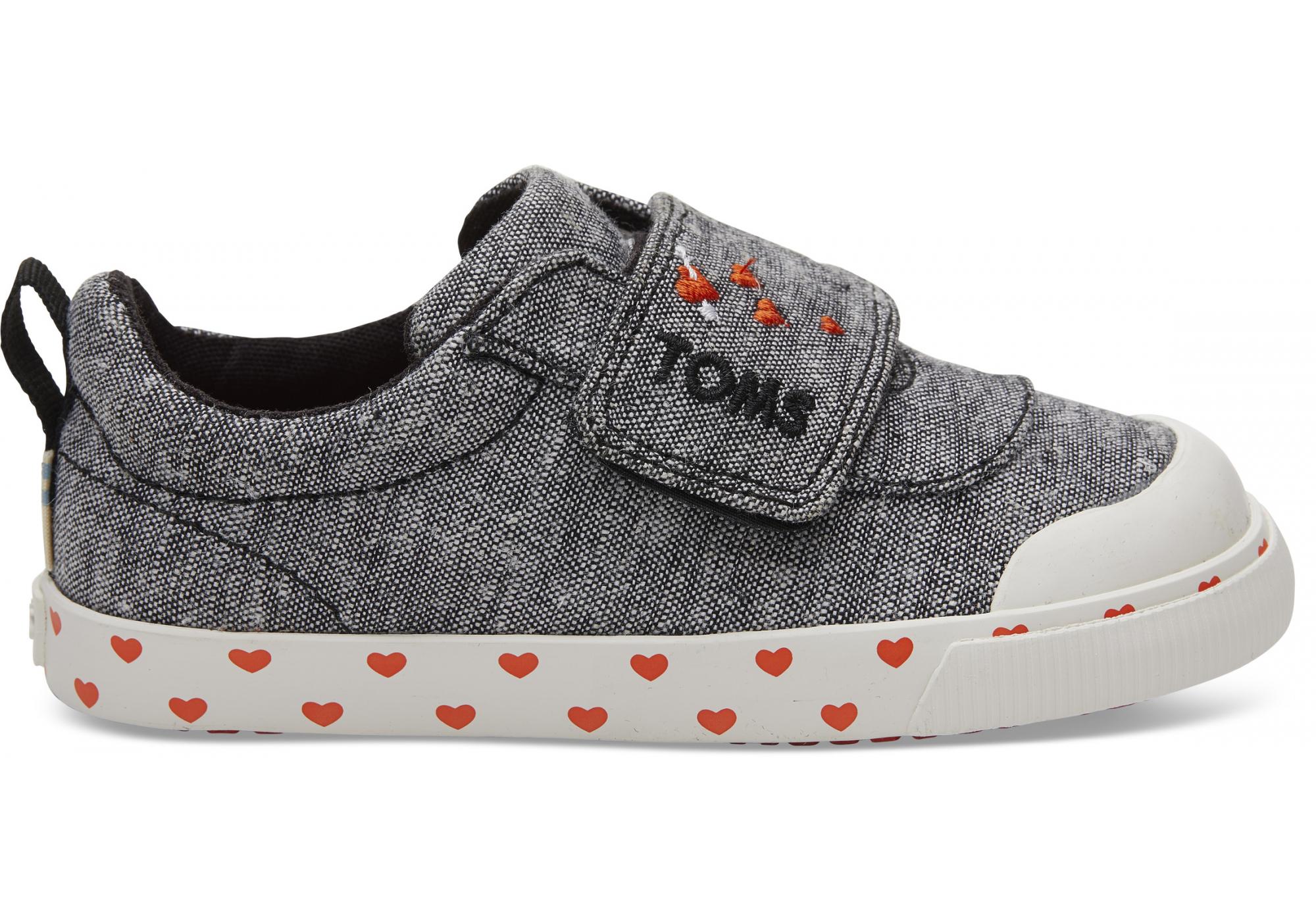 27249a39b3d Dětské šedé tenisky TOMS Tiny Sweethart Doheny Sneakers