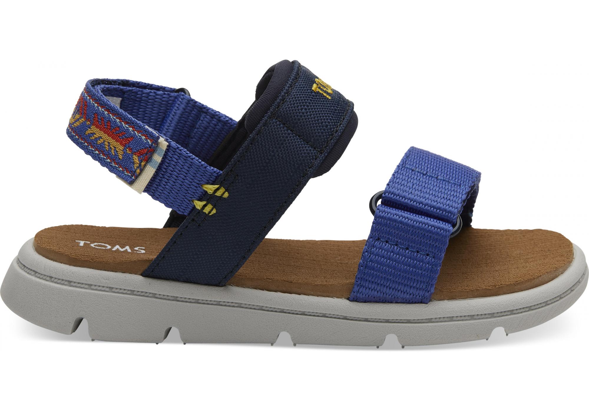 e1d3fb628fdc0 URBANLUX | Dětské modré sandálky TOMS Tiny Ray Sandals
