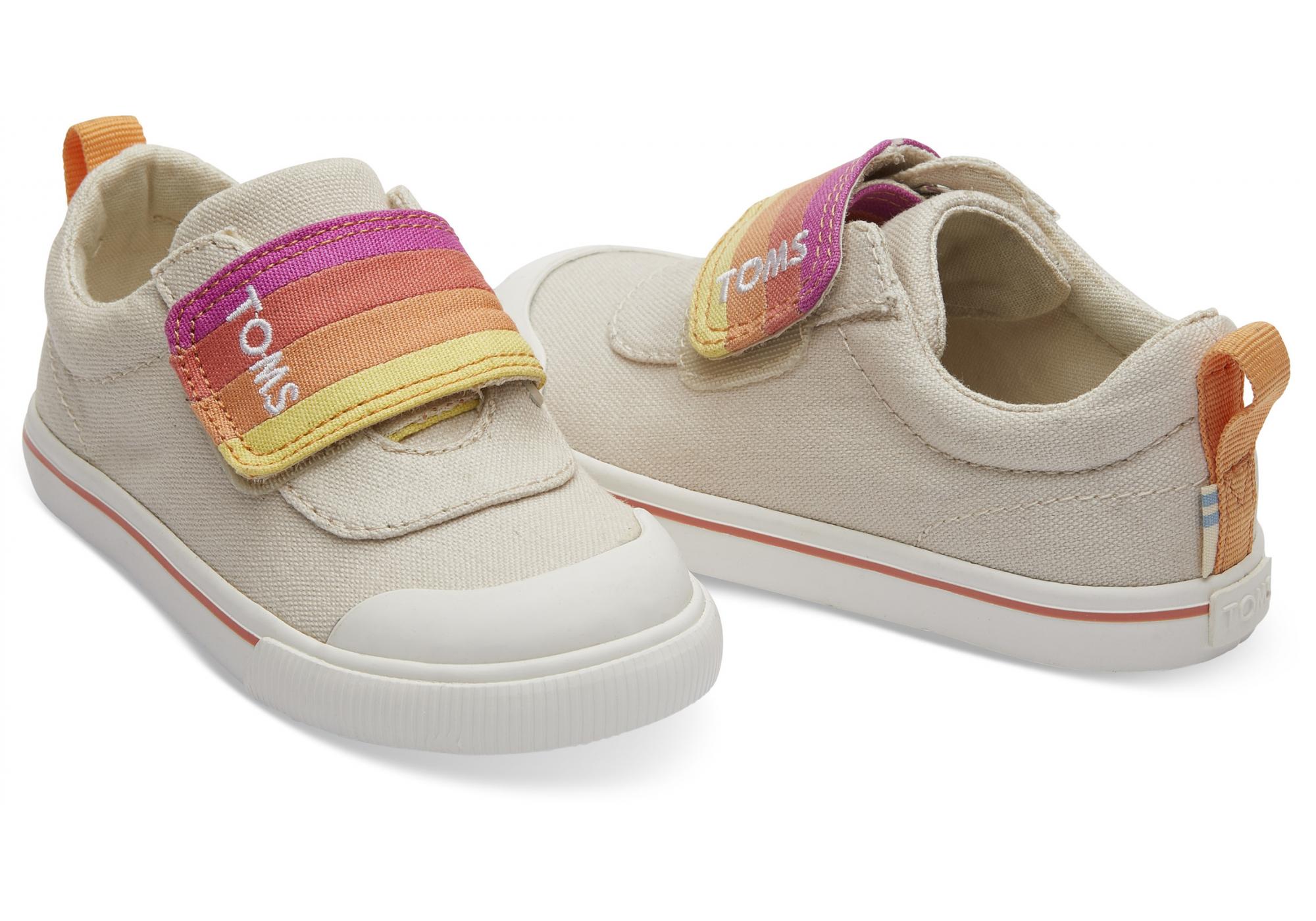 7339b3d7f6 Dětské béžové tenisky TOMS Tiny Doheny Sneakers