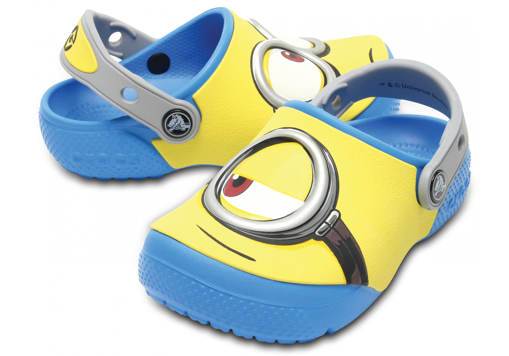 bd40295f5e9b0 dětské pantofle Crocs Crocs FunLab Minions
