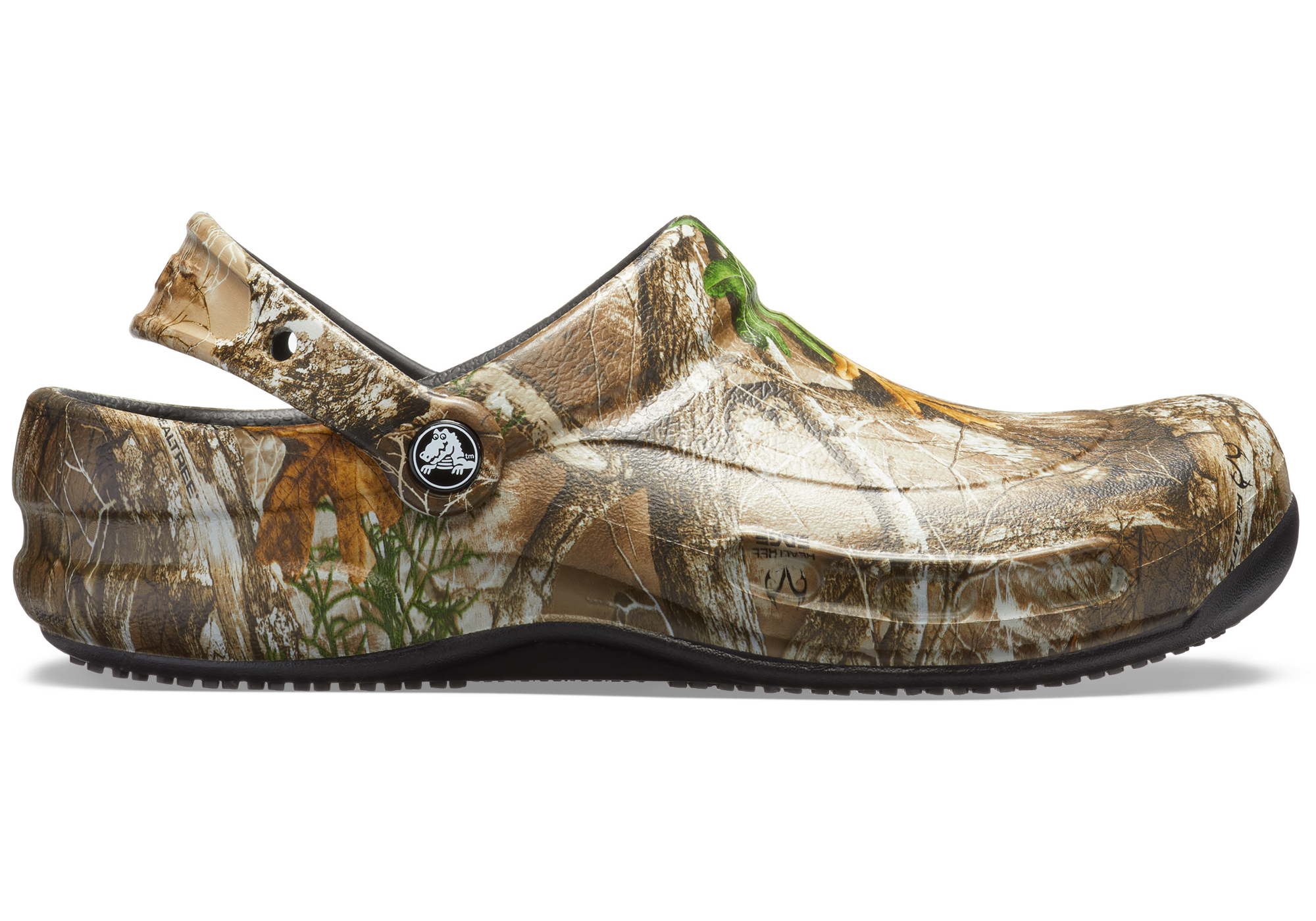 750048797 pantofle Crocs Bistro Realtree Edge