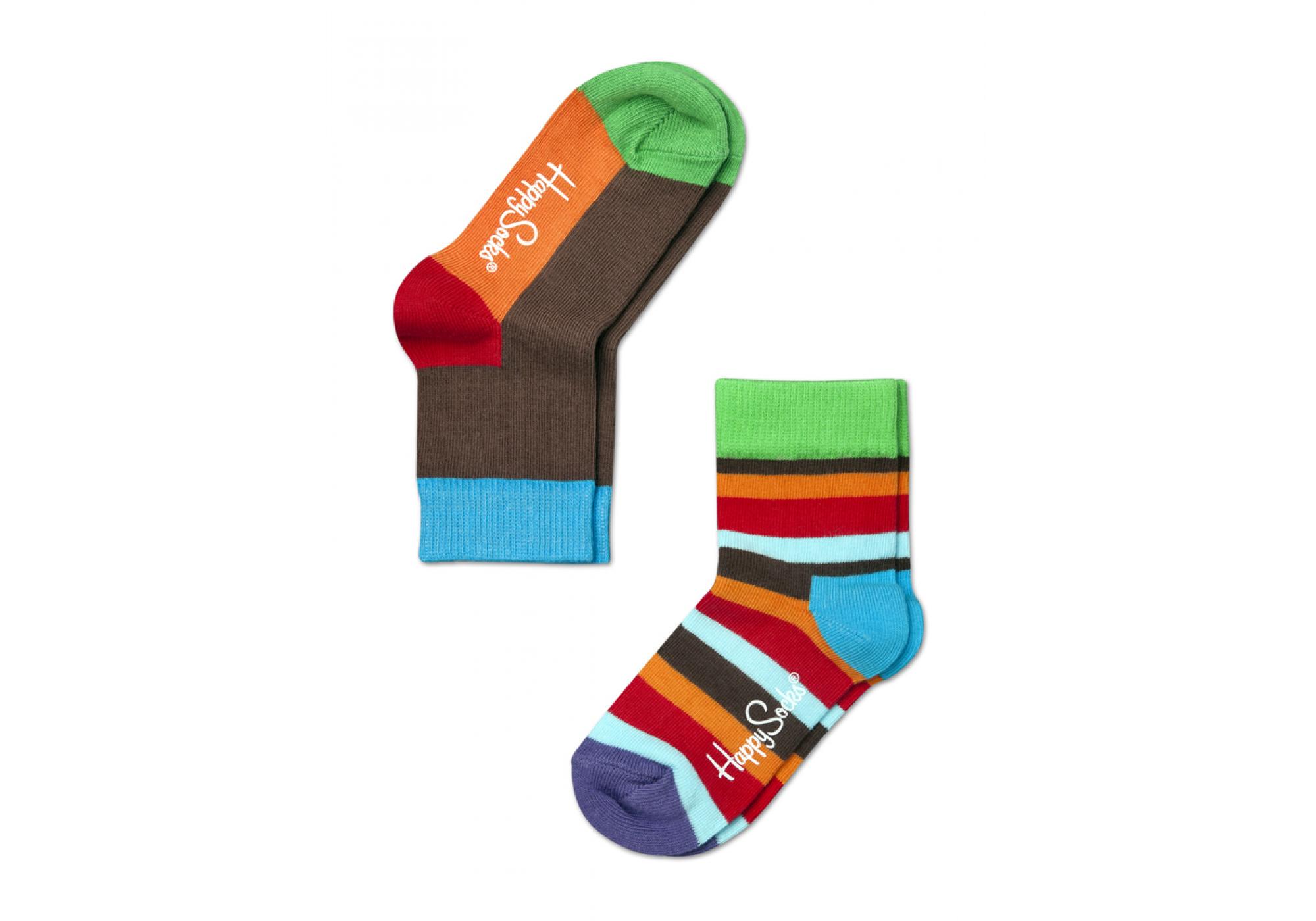 f46fff8f4e4 dětské barevné ponožky Happy Socks