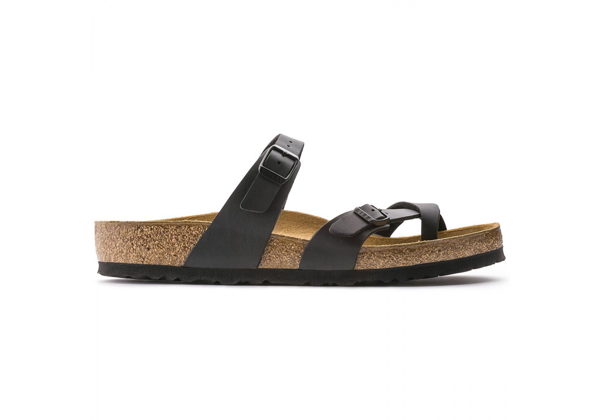 81b410347 URBANLUX | Černé pantofle Birkenstock Mayari Birko-Flor