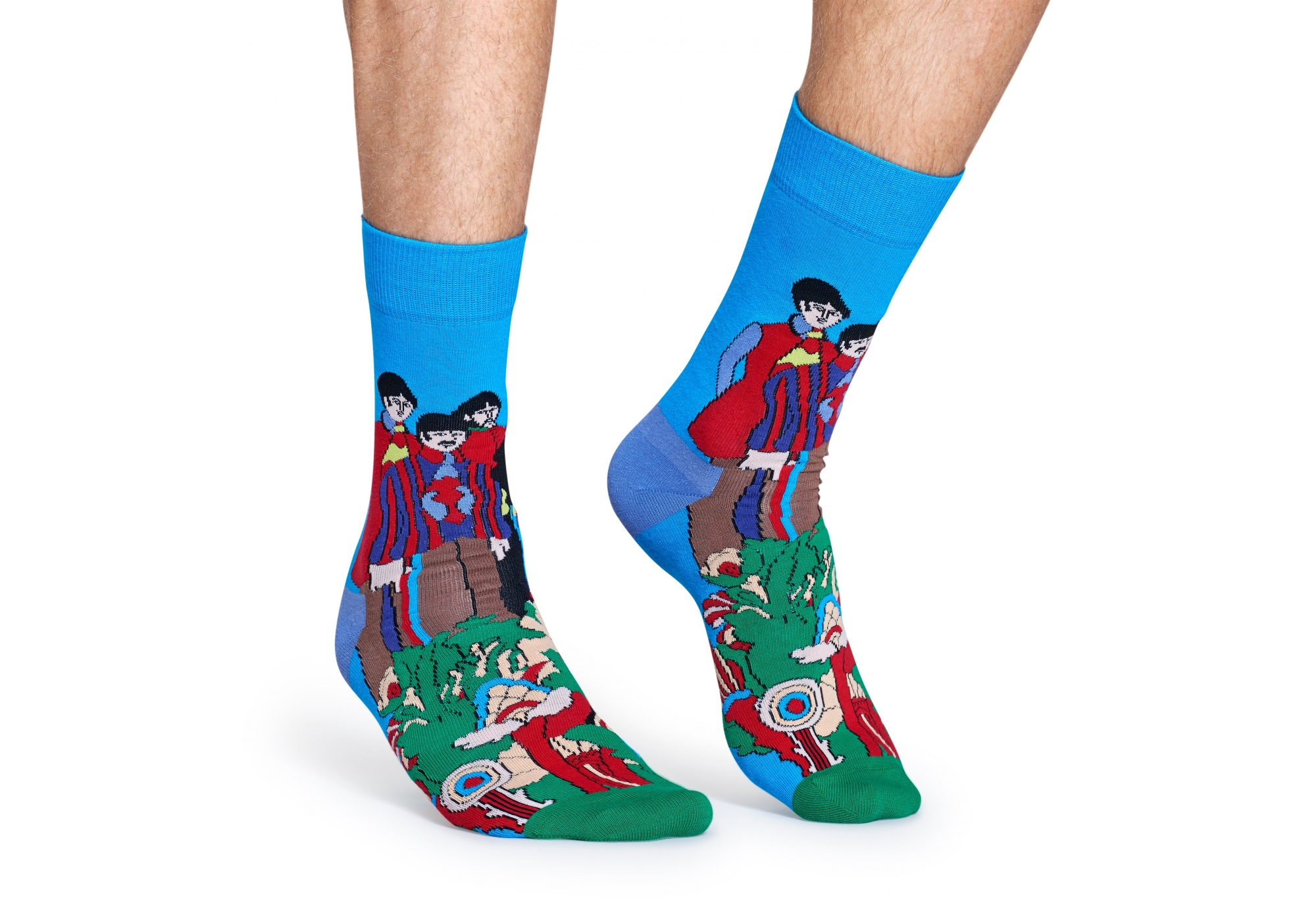 Barevné ponožky Happy Socks se vzorem Pepperland x The Beatles 1554919857