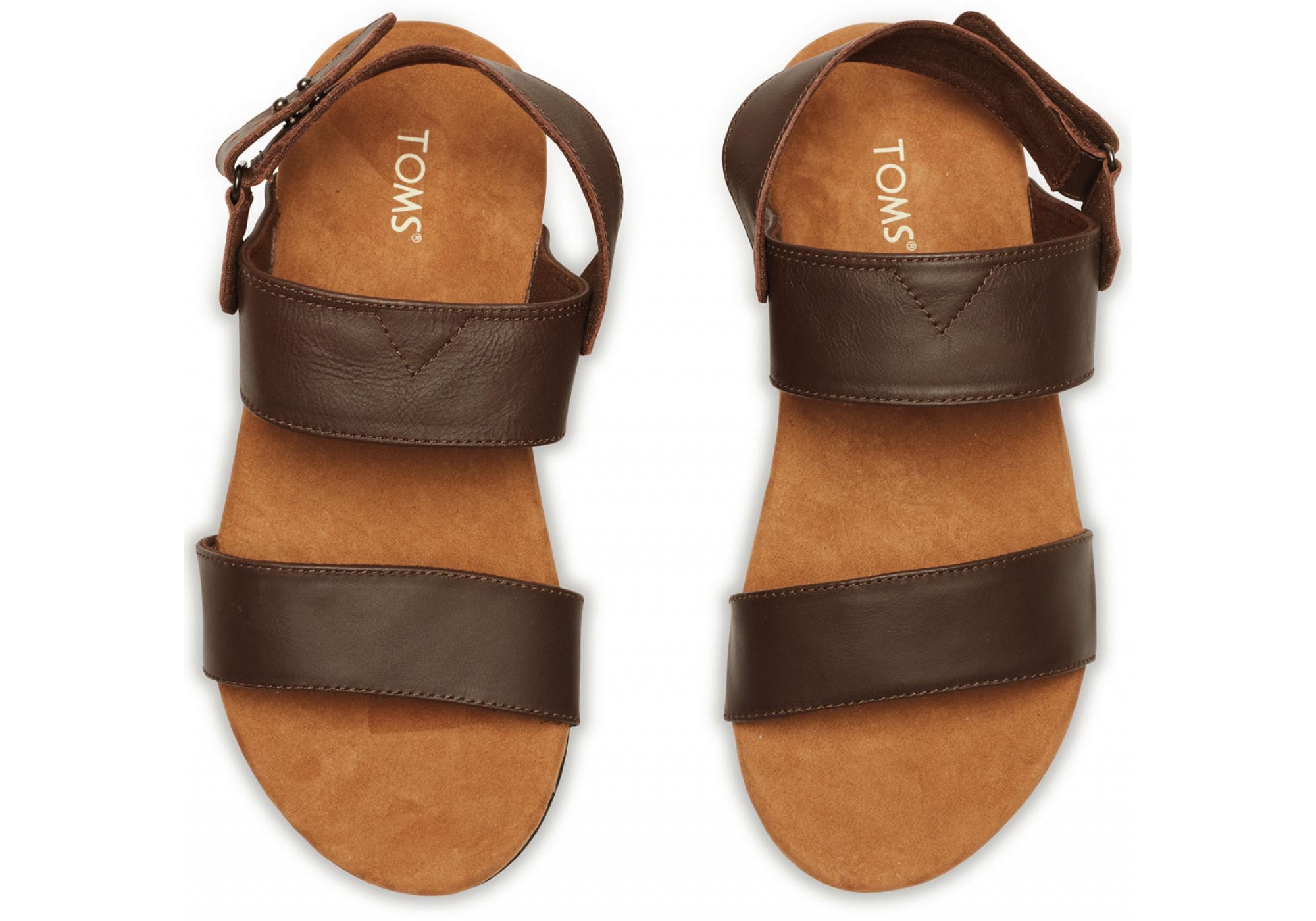 25f163b0c URBANLUX | Hnědé pánské sandále TOMS Moreno