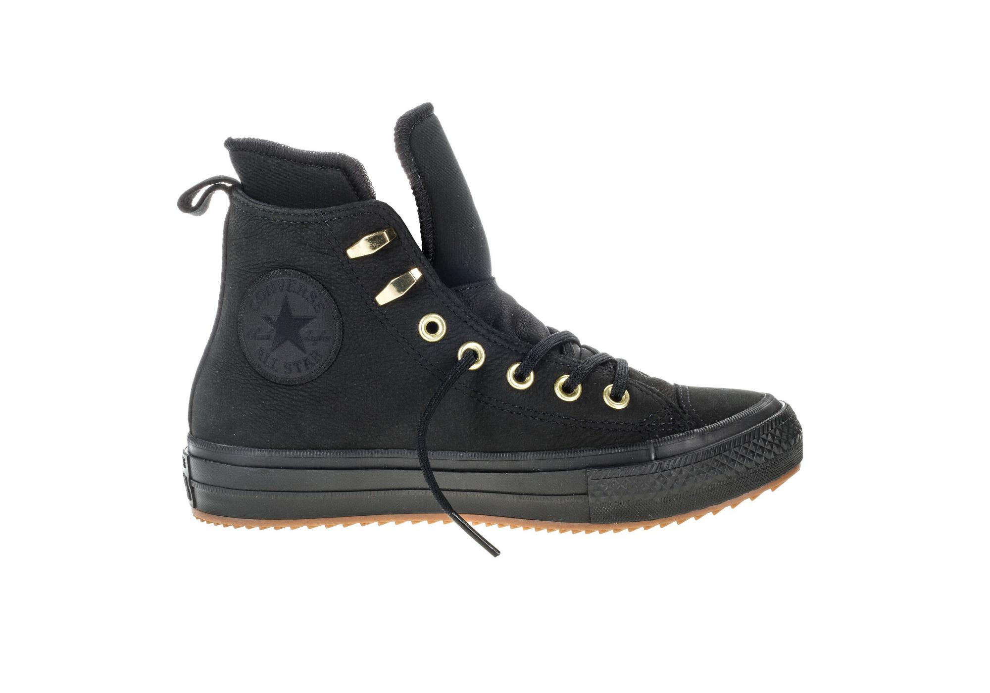Černé Converse Chuck Taylor All Star Waterproof Nubuck Hi 6eaa9b9910
