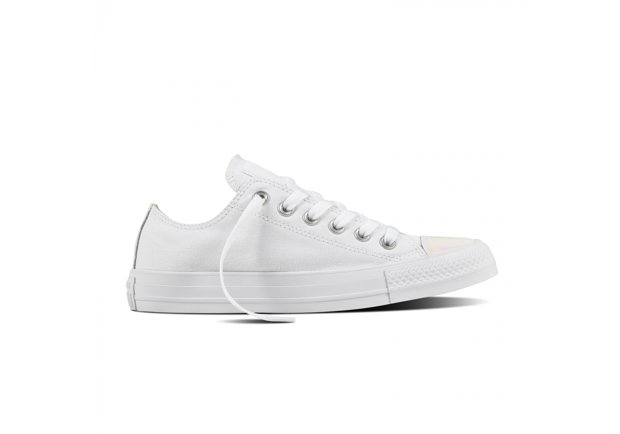 c35ee7b3ea9 Bílé Converse Chuck Taylor All Star Embossed Holographic Ox