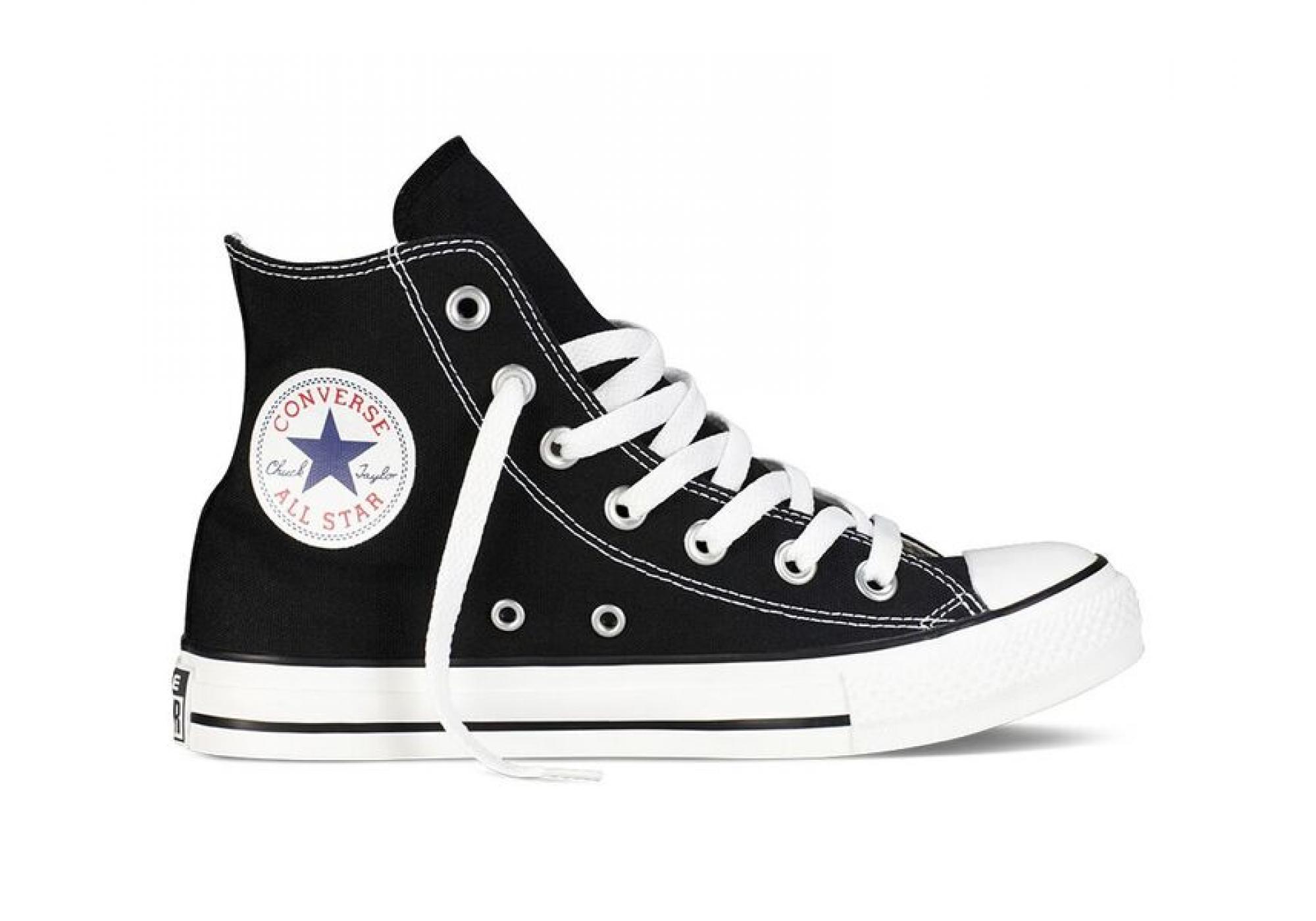 6bb915eea8e Černé Converse Chuck Taylor All Star Hi