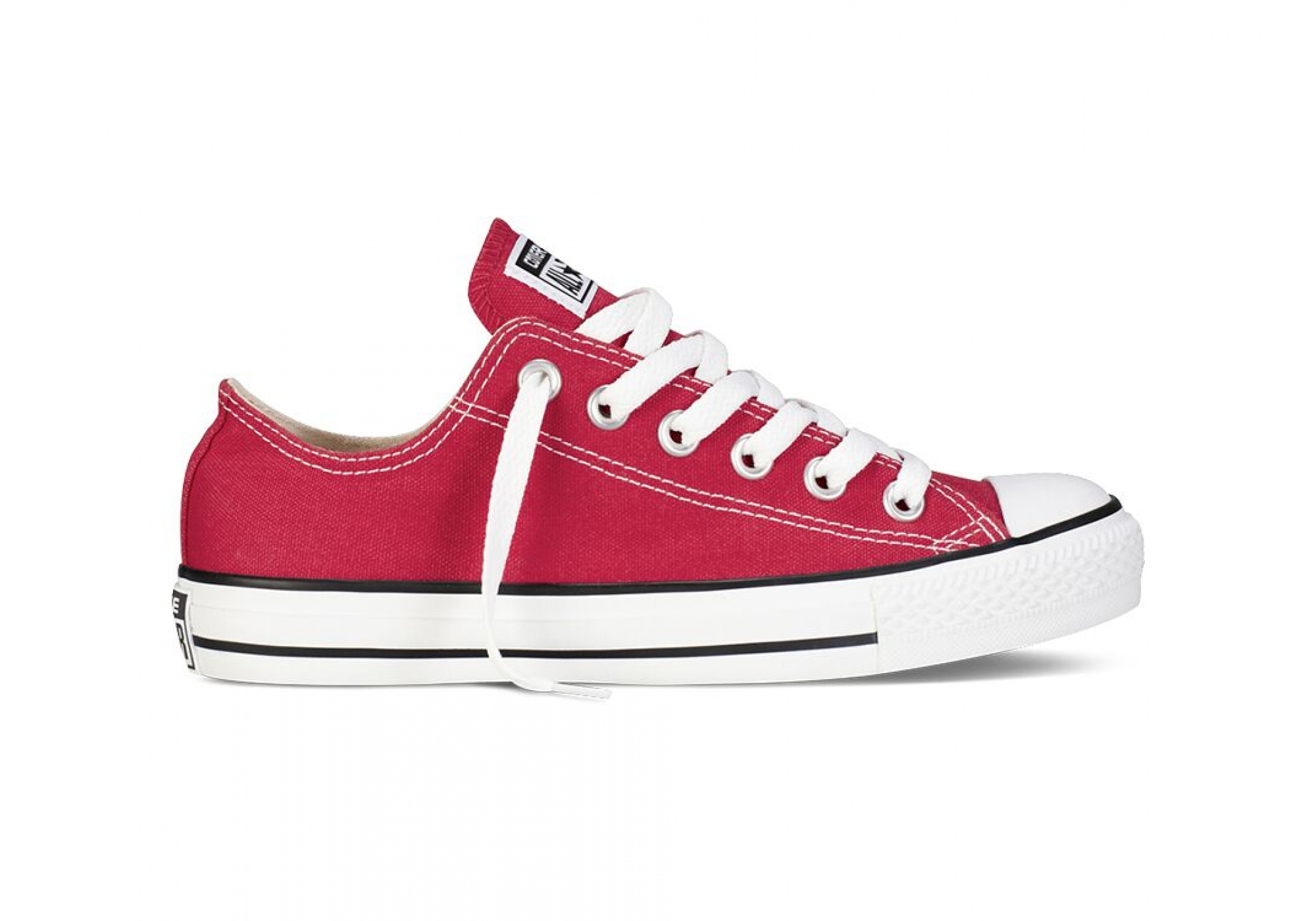 Červené Converse Chuck Taylor All Star Ox c1c4be432f5