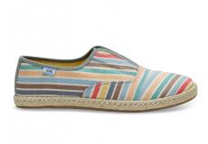 Dámské barevné tenisky TOMS Stripe Palmera
