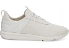 Dámské bílé tenisky TOMS Canvas Cabrillo