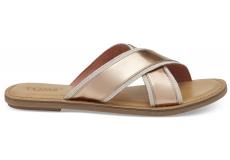 Dámské zlatorůžové sandály TOMS Specchio Viv