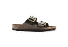 Hnědé pantofle Birkenstock Arizona Birko-Flor Graceful