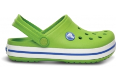 Crocband Kids Volt Green/Varsity Blue C6/7