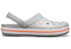 Crocband Light Grey/Bright Coral M4W6
