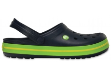 Crocband - Navy/Volt Green/Lemon M4/W6