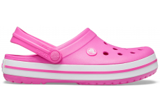 Crocband Electric Pink/White M4W6