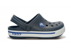 Crocband II.5 Clog Kids Charcoal/Sea Blue C4/5