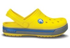 Crocband II.5 Clog Kids Yellow/Light Grey C4/5