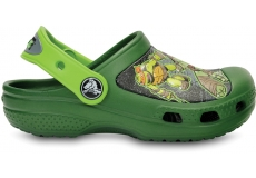 Teenage Mutant Ninja Turtles Clog Seaweed/Volt Green C4/5