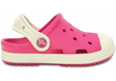 Crocs Bump It Clog K-Candy Pink/Oyster C8