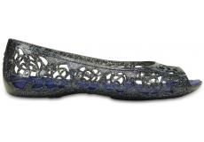 Crocs Isabella Glitter Flat GS Navy/Cerulean Blue J1