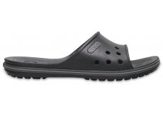 Crocband II Slide - Black/Graphite M8/W10