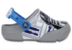 CrocsFunLab Lights R2D2 - Ocean/Light Grey C12