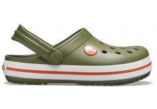 Crocband Clog K Army Green/Burnt Sienna C10