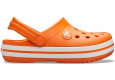 Crocband Clog K Orange C10