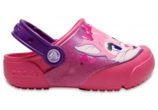 Crocs Fun Lab Lights Clog K Paradise Pink C6